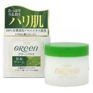 Meishoku Green Plus Aloe Moisture cream / Увлажняющий крем для очень сухой кожи лица 48 г