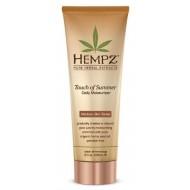 Молочко для тела с бронзантом темного оттенка / Touch of Summer Medium Skin Tonea Hempz