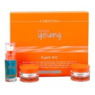 Christina Rejuvenating Day Eye Cream / Набор для глаз FOREVER YOUNG 3 препарата