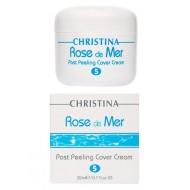 Christina Post Peeling Cover Cream / Постпилинговый тональный защитный крем ROSE DE MER 20 мл