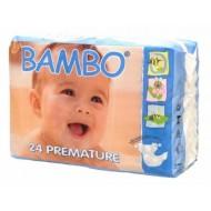 Abena ECO Подгузники детские 0 для недоношенных 1-3 кг №24  Bambo