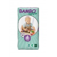 Abena ECO Подгузники детские 4 Maxi 7-18 кг № 60  Bambo Nature