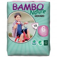 Abena ECO Подгузники-трусики детские 6 XL Plus 18+ кг №20 Bambo