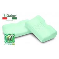Ортопедическая подушка Vefer Bio Aloe JAP 43 с выемкой под плечо с эффектом памяти для сна на боку