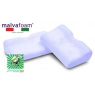 Ортопедическая подушка Vefer Malvafoam JAP 53 с выемкой под плечо с эффектом памяти (GU 24) для сна на боку