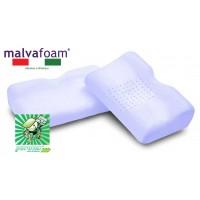 Vefer Malvafoam JAP 53 / Анатомическая ортопедическая подушка с экстрактом мальвы и эффектом поддержки в воде с выемкой под плечо для сна на боку