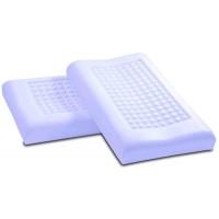 Vefer Malvafoam Orthomassage / Классическая ортопедическая подушка с экстрактом мальвы и эффектом поддержки в воде с массажной поверхностью