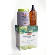 Набор: маска с дренажным эффектом 1 кг + масло с дренажным эффектом Guam