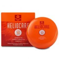 Heliocare Color Compact SPF 50 Brown / Крем-пудра компактная с УФ-защитой (SPF 50) для сухой и нормальной кожи (для загорелой ко