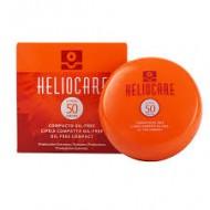 Heliocare Color Compact Oil-Free SPF 50 Light / Крем-пудра компактная  с УФ-защитой (SPF 50) для жирной и комбинированной кожи (