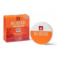 Heliocare Color Compact Oil-Free SPF 50 Fair / Крем-пудра компактная  с УФ-защитой (SPF 50) для жирной и комбинированной кожи (д