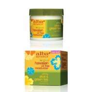 Alba Botanica Aloe & Green Tea Oil-Free Moisturizer 3oz / Гавайский увлажняющий крем Алое и Зеленый чай