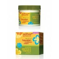 Alba Botanica Hawaiian Moisture Cream (Jasmine &Vitamin E)  3oz / Гавайский увлажняющий крем Жасмин&Витамин Е