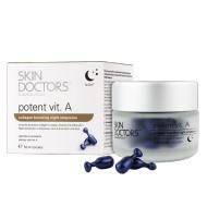 Ночная концентрированная сыворотка с витамином А в капсулах / Potent Vit.А Skin doctors